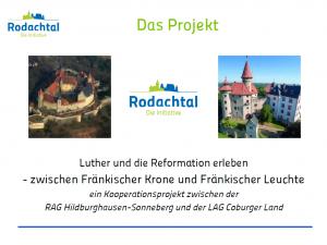 Präsentation Abschlussbericht Luther und Reformation 2018